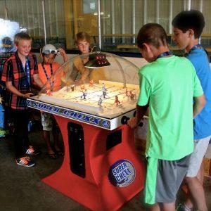 Super Chexx Arcade Dome Hockey